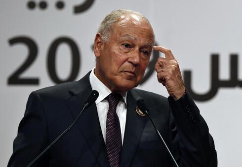 Ahmed Aboul Gheit, secretario general de la Liga Árabe.