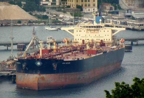 Barco Irán Libia