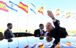 El presidente israelí Reuven Rivlin en una de sus visitas a España.