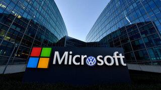 Asociación entre Microsoft y Volkswagen para desarrollar vehículos autónomos.