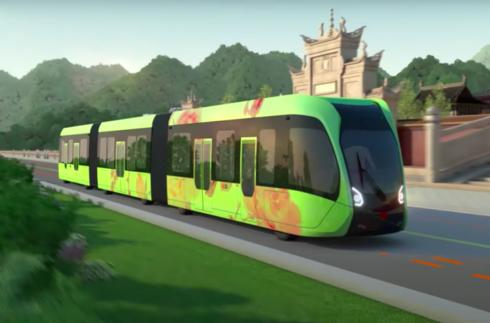 O novo meio de transporte viajará semiautônomo.