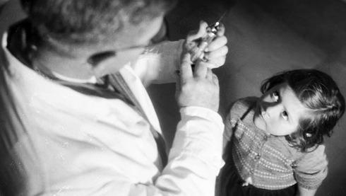 Imagen utilizada para difusión de una de las primeras campañas de vacunación en Israel.