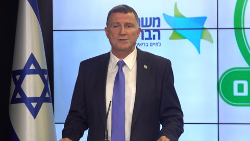 Yuli Edelstein, ministro de Salud.