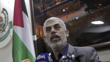 Yahya Sinwar, reelegido líder de Hamas.