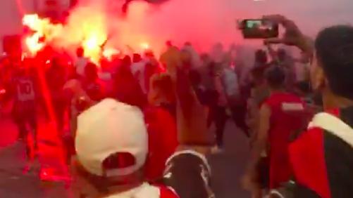 Imagen tomada del video que formará parte de la denuncia.