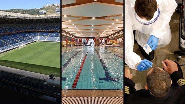 Nuevas ampliaciones para estadios, piscinas y aeropuertos.