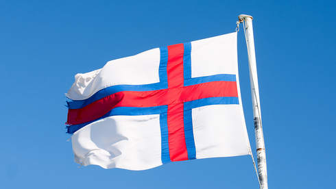 Bandera de las Islas Feroe.