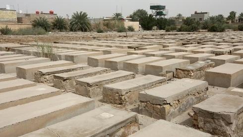 El cementerio judío de Habibiya en Bagdad.