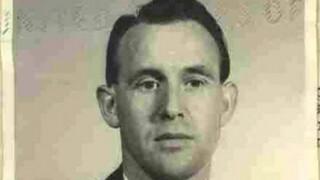 Friedrich Karl Berger, ex guardia de seguridad de un campo de concentración nazi deportado de EE.UU. a Alemania.