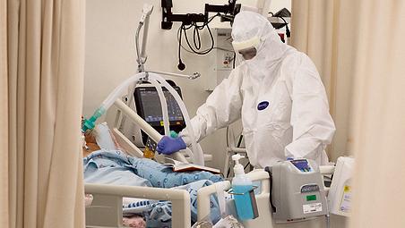 Las salas de coronavirus comenzaron a vaciarse en Israel.