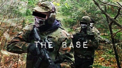Escena de un video de reclutamiento de La Base.