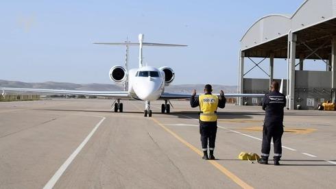 """Nuevo avión espía """"Oron"""" de la Fuerza Aérea de Israel."""
