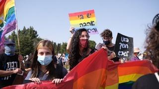 La protesta tuvo lugar para repudiar la asunción de un candidato de la lista Sionismo Religioso.