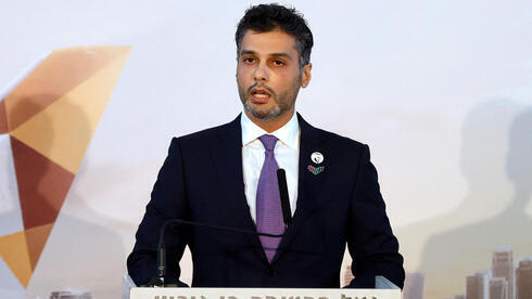 El primer embajador de los Emiratos Árabes Unidos en Israel, Mohammed Al-Khajah.
