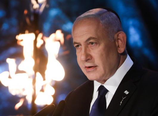 Mensaje de Netanyahu a Estados Unidos en el discurso del acto oficial de Yom HaShoá.