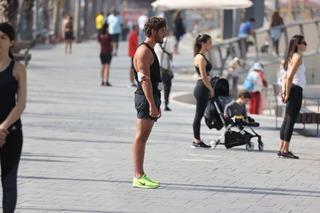 Dos minutos de silencio en Tel Aviv.