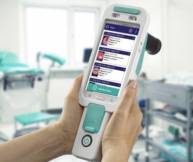 Detector de cáncer de útero.