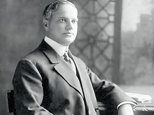 Benjamín Guggenheim, magante minero norteamericano.