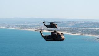 Helicópteros de combate.