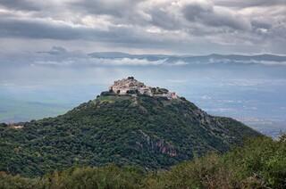 La grandiosa fortaleza de Nimrod en el norte de Israel.