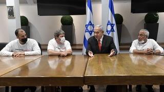 Reunión de Netanyahu con el presidente de la Organización de Personas Discapacitadas de las Fuerzas de Defensa de Israel.