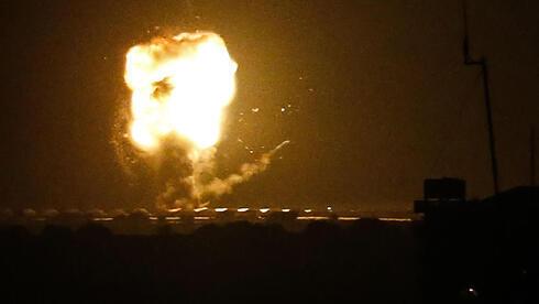El Ejército de Israel ataca objetivos de Hamás en Gaza el sábado en respuesta al lanzamiento de cohetes.