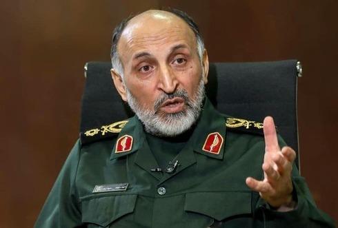 Muhammad Hejazi, vicecomandante de la Fuerza Quds. Según Irán, murió de un paro cardíaco.