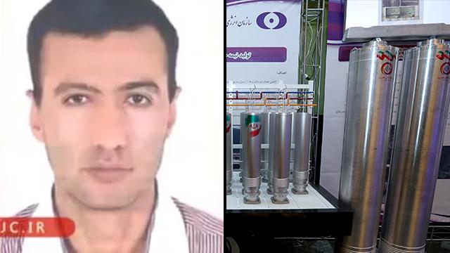 El sospechoso de haber causado la explosión en la central nuclear de Natantz, Reza Karimi.