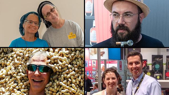 Cuatro historias. De izquierda a derecha, Miri Newcome y Chaya Ben Baruch; David Zibell; Jason Cohen; Elli y Efrat Schorr.