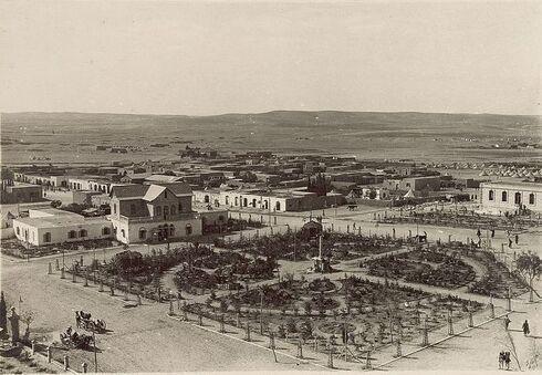 Beer Sheva en 1917.