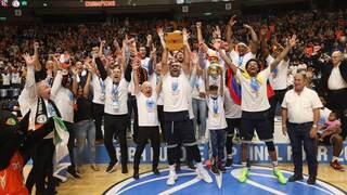 Ironi Ness Ziona, campeón de la Copa Europea de la FIBA 2021.