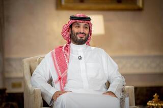 El príncipe heredero saudita, Mohammad Bin Salman.