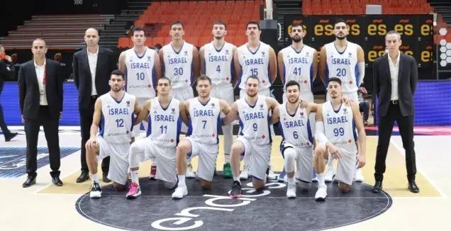 Selección Básquetbol Israel