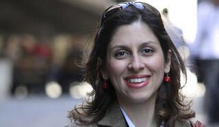 Nazanin Zaghari-Ratcliffe, una mujer británico-iraní detenida en Irán.