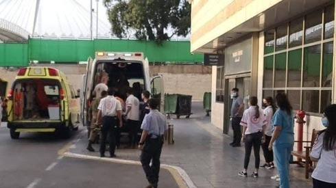 Escena del atentado en Samaria.