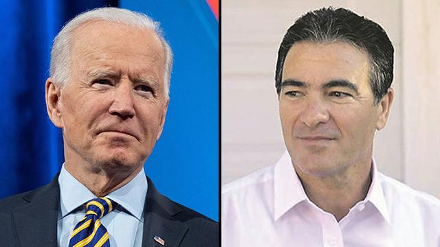 El cuchillo El jefe del Mossad, Yossi Cohen (derecha), se reunió con el presidente de Estados Unidos, Joe Biden, en la Casa Blanca.por la terrorista en el intento de ataque.