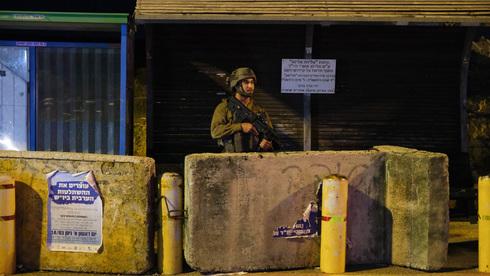 El ejército reforzó su presencia en Cisjordania.