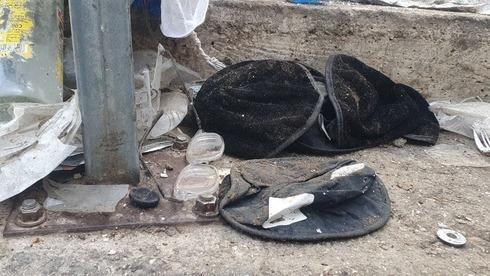 Objetos personales dejados por las víctimas de la tragedia de Merón.
