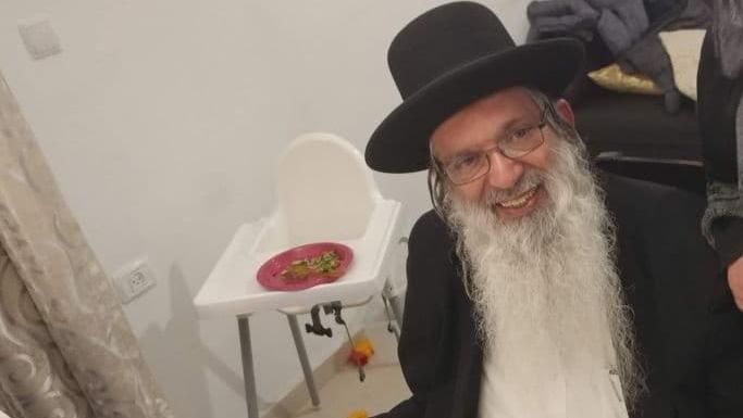 El rabino Moshe Tzarfati.