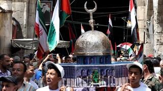 Protesta Siria Irán