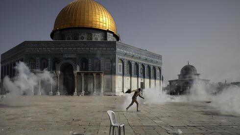 Violentos incidentes en el Monte del Templo.