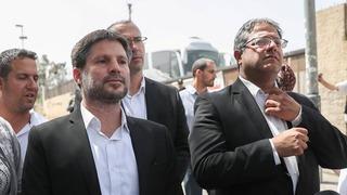 Bezalel Smotrich visitó Sheikh Jarrah