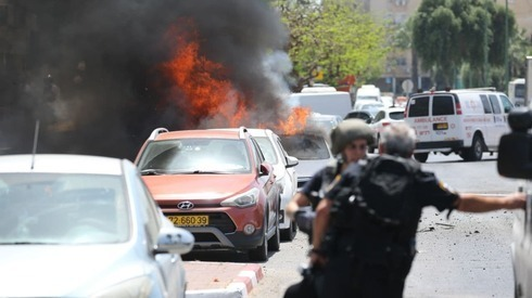 Varios cohetes directos cayeron sobre Ashkelon.