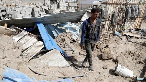 Escombros en Gaza tras un ataque de las FDI.