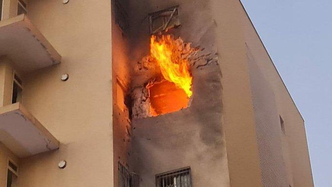 Misil Ashdod Fuego