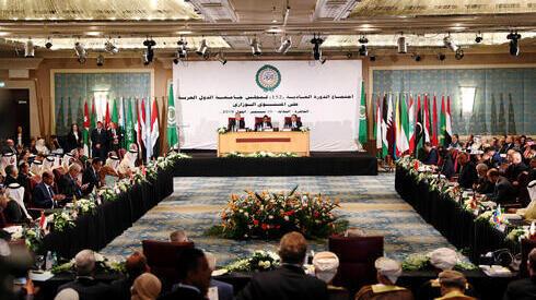 Reunión de la Liga Arabe en El Cairo.