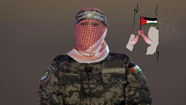 Abu Obeida, portavoz del ala militar de Hamás.