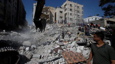 Destrucción en Gaza tras ofensivas de las FDI contra terroristas de la Franja.
