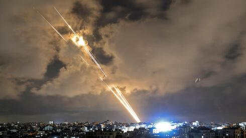 Cohetes lanzados desde Gaza contra civiles israelíes la semana pasada.