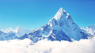 Cima del monte Everest.